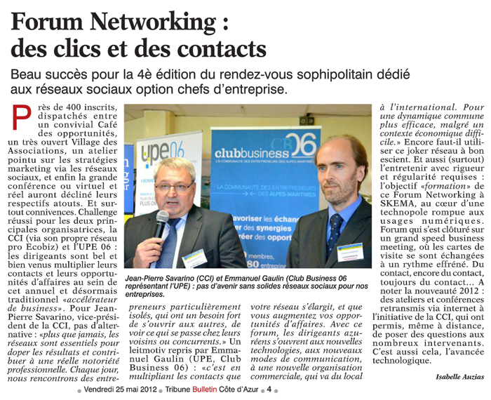 Forum Networking