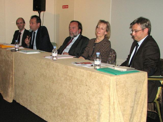 Emmanuel Gaulin, Olivier Vincent, Gaston Franco, Martine Liogier-Coudoux, Laurent Soulier