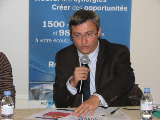 Laurent Soulier, Responsable Ressources et. Programmes Européens de la CCI Nice Côte d'Azur