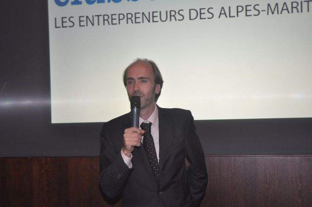 Emmanuel Gaulin, président Club Business 06