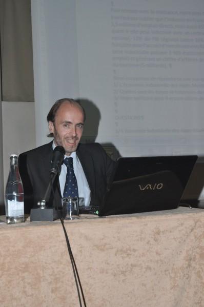 Emmanuel Gaulin, président du Club Business 06