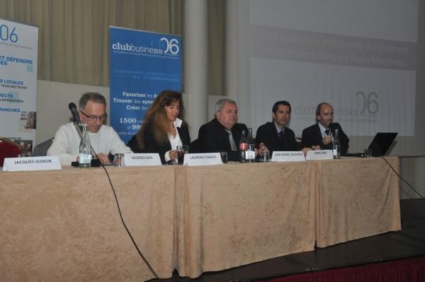 Georges Dao, Laurence Chaleil, Jean-Pierre Savarino, Hervé Zekri et Emmanuel Gaulin