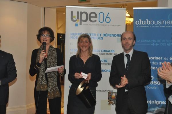 Véronique Marce, Stéphanie Aufrère et Emmanuel Gaulin