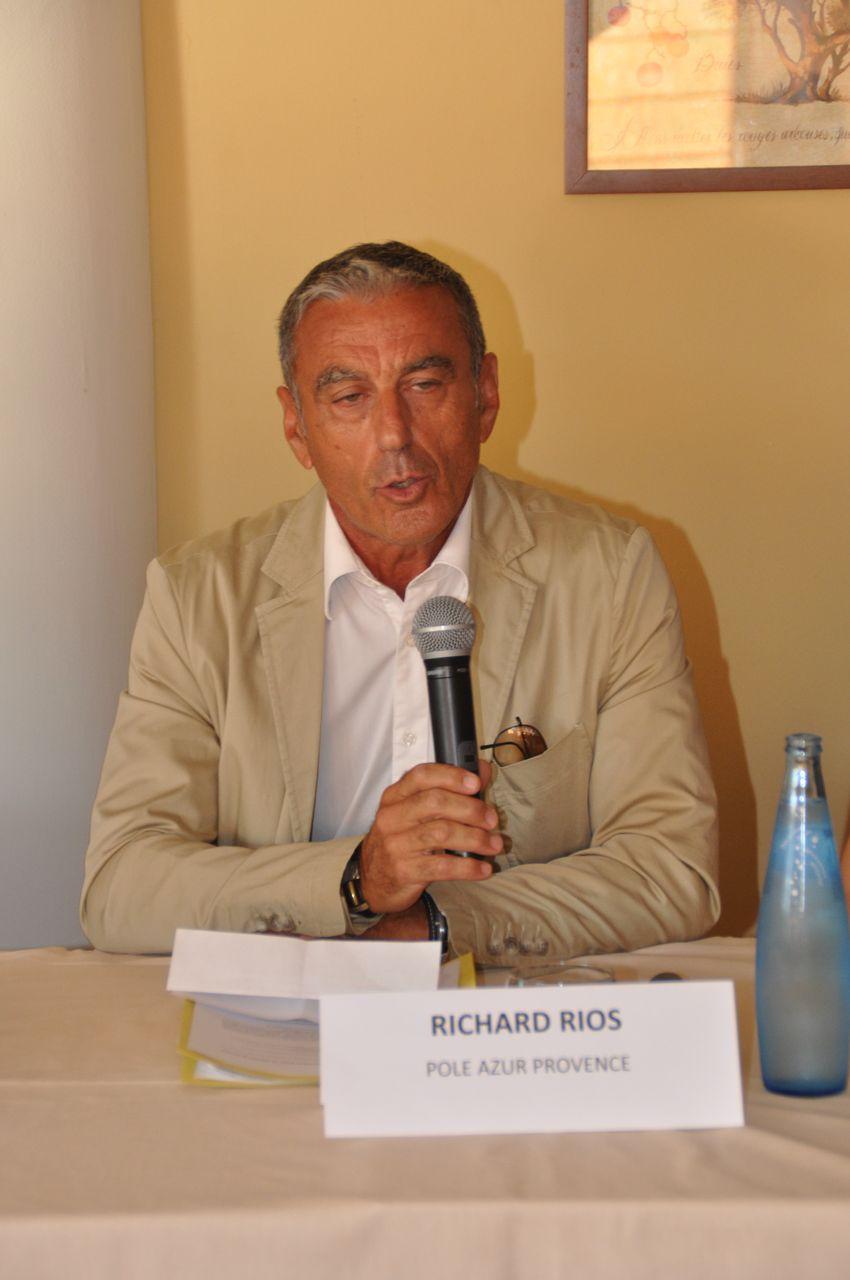 Richard Rios, Directeur du Développement Economique au sein du Pôle Azur Provence