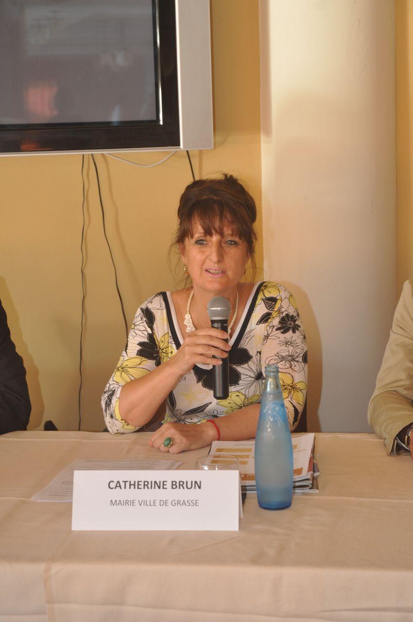 Catherine Brun, Conseillière municipale de Ville de Grasse