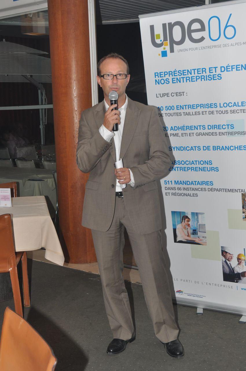 Laurent Elineau, directeur d'Oredui