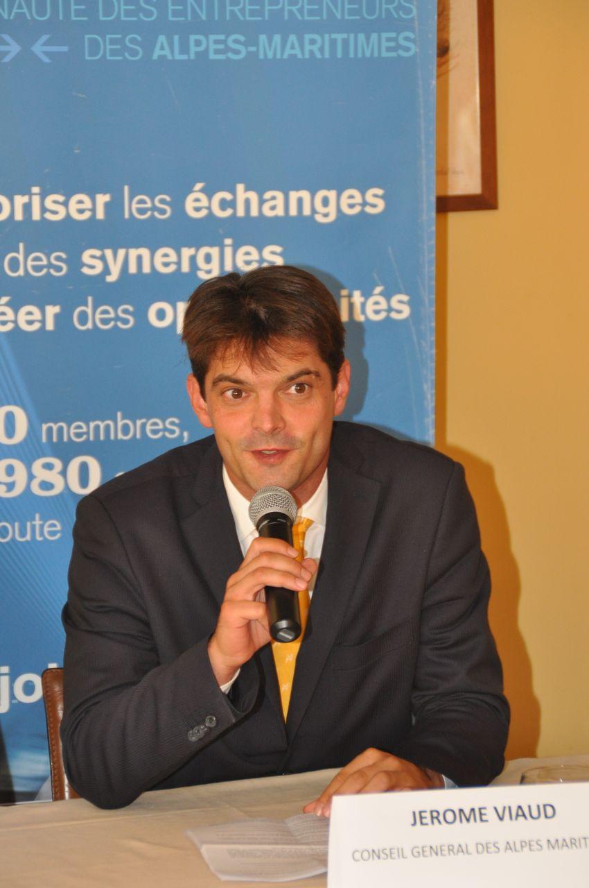 Jérôme Viaud, Conseiller Général des Alpes-Maritime du Canton de Grasse-Nord