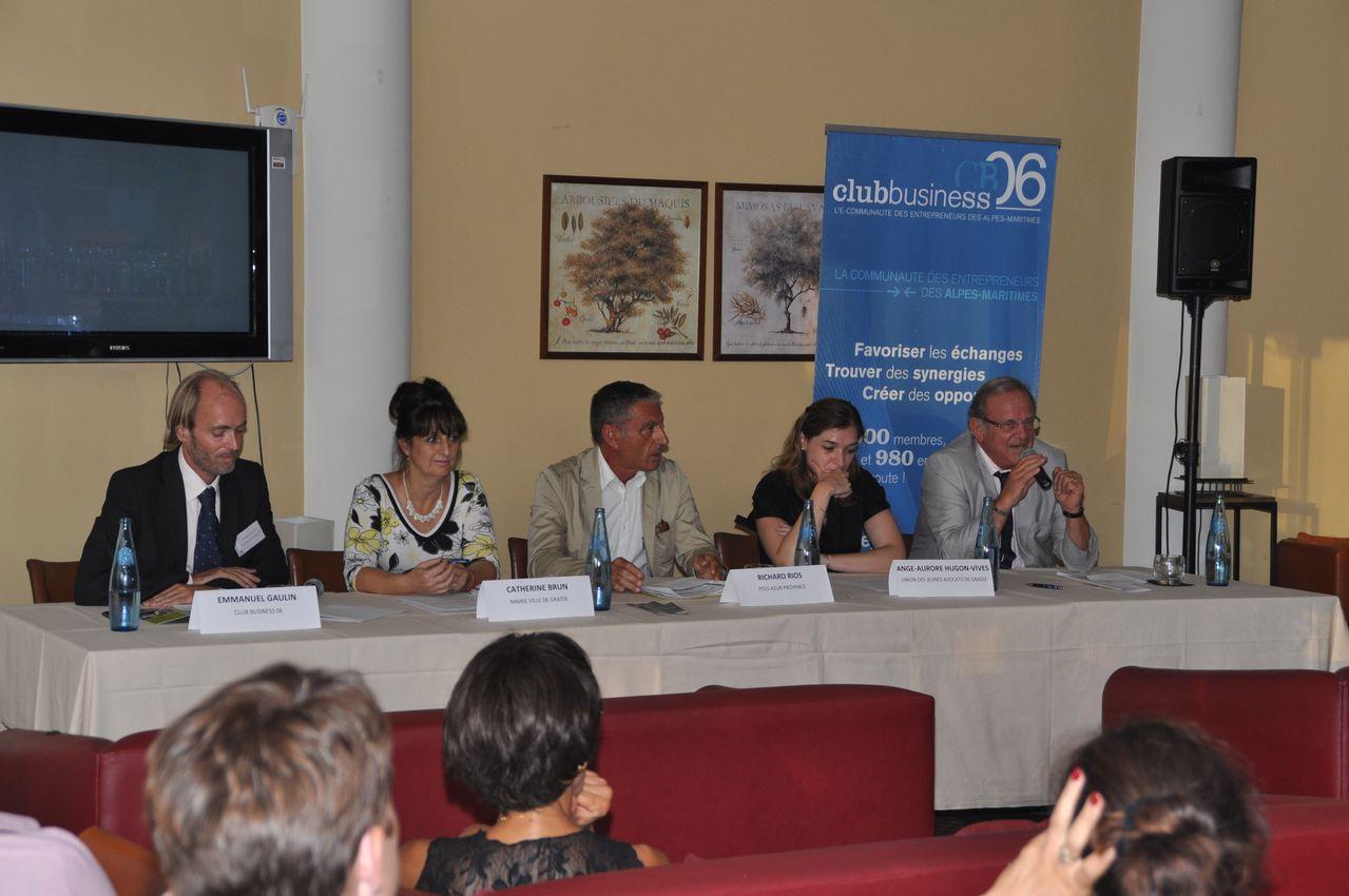 Table ronde : Quelles perspectives de développement pour le bassin grassois