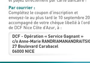 Invitation DCF