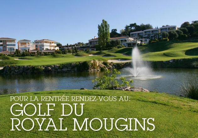 Golf au Royal-Mougins le 7/9/2013
