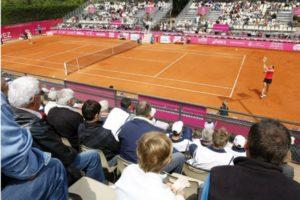 Photo du cours de tennis de l'US Cagnes Tennis